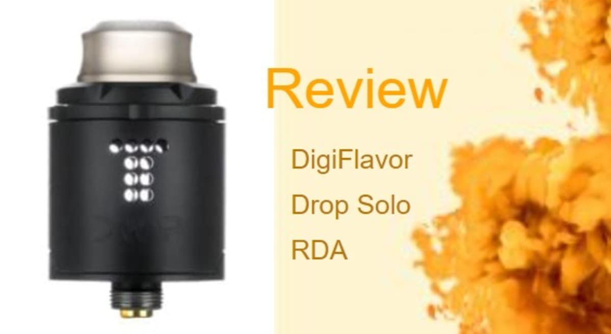 Drop Solo RDA Review: Dripping With Delight