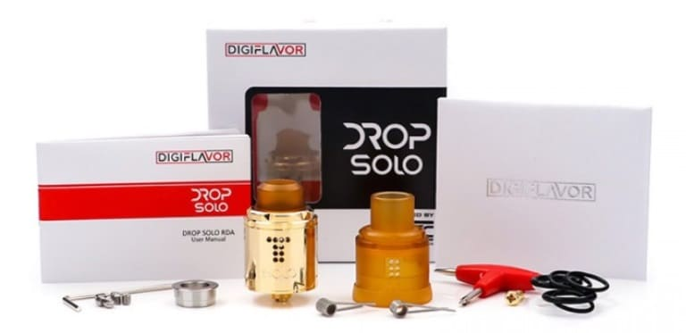 DigiFlavor Drop Solo RDA kit