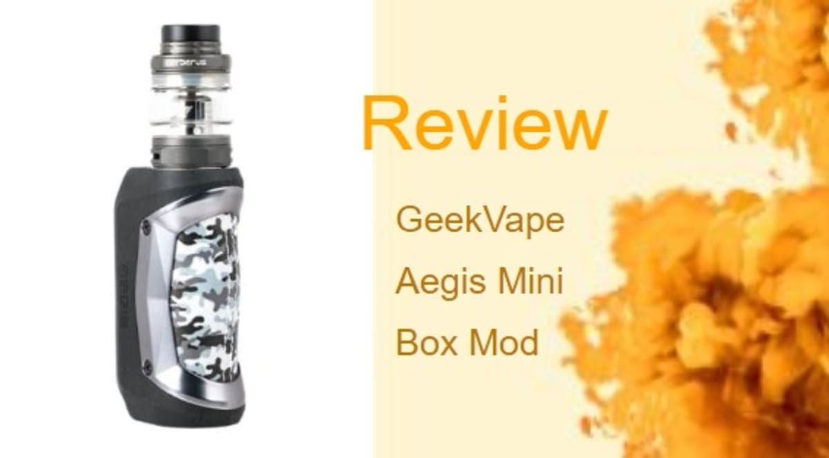 GeekVape Aegis Mini-Review: Small in Size, Giant in Stature