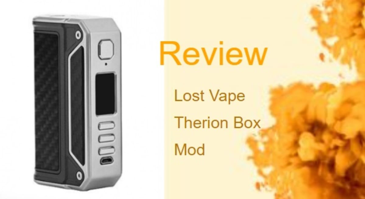 The Lost Vape Therion: High Powered and Stylish Vape