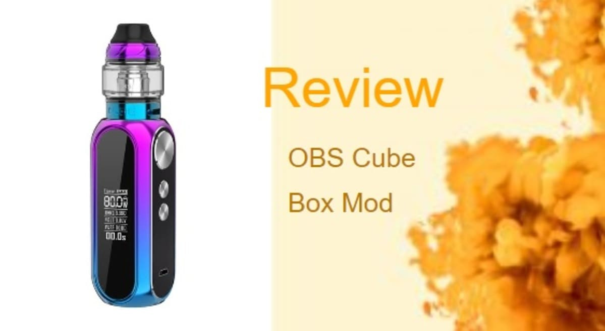 OBS Cube Kit Review: Super-Fast Mod With Sexy Tank