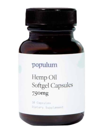 Populum Full Spectrum Hemp Capsules