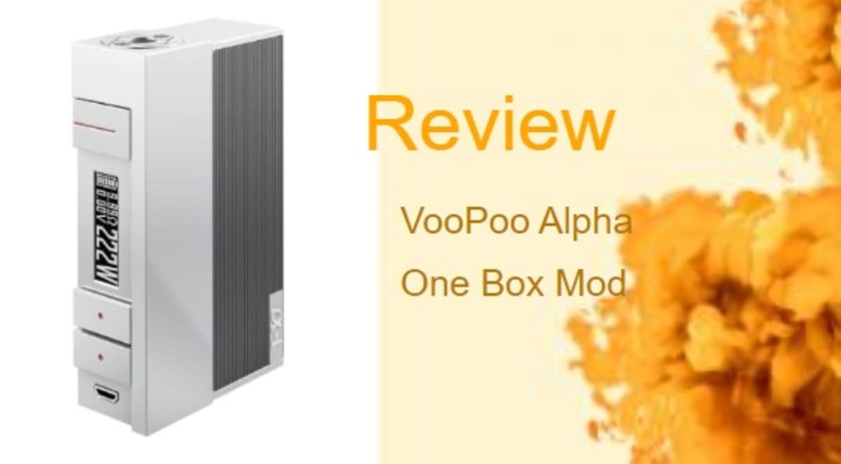 VooPoo Alpha One Review: Ready Player Alpha One