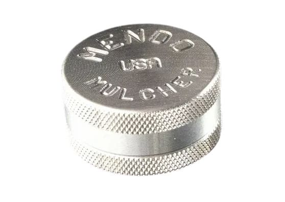 Knurled Edge 2-Piece Mini Grinder