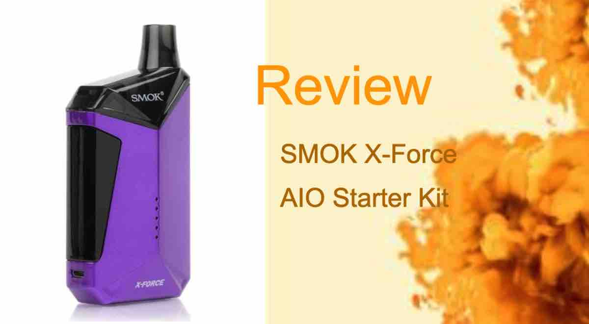 SMOK X-Force Review: Compact AIO That Delivers Big Clouds