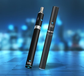 Blue E-Cig sidebar