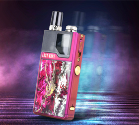 Lost Vape Orion sidebar