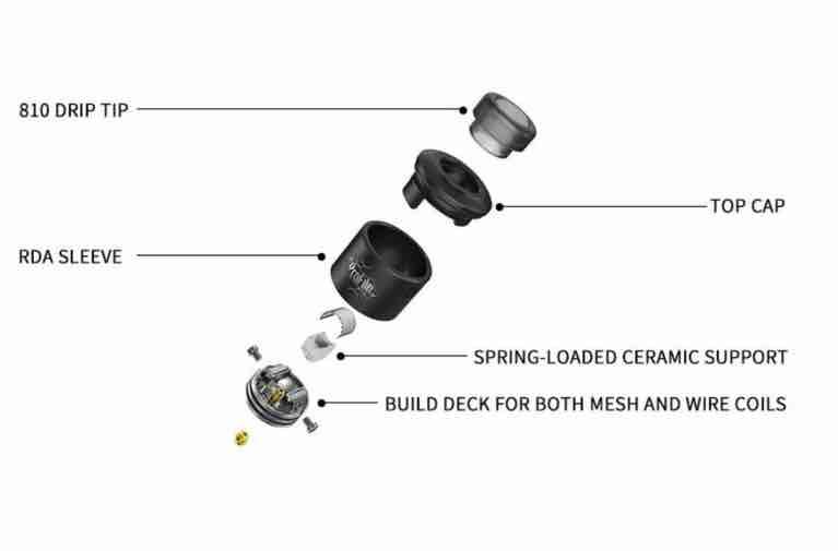 profile RDA wotofo components