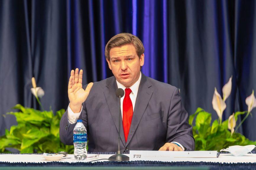 VD Governor Ron DeSantis