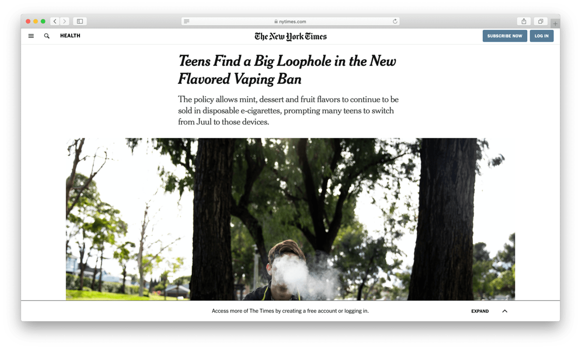 nytimes-vaping-flavors-disposable-image