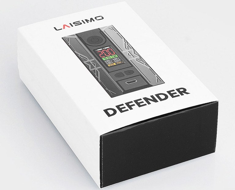 Laisimo Defender 200W Box Mod Unboxing Review
