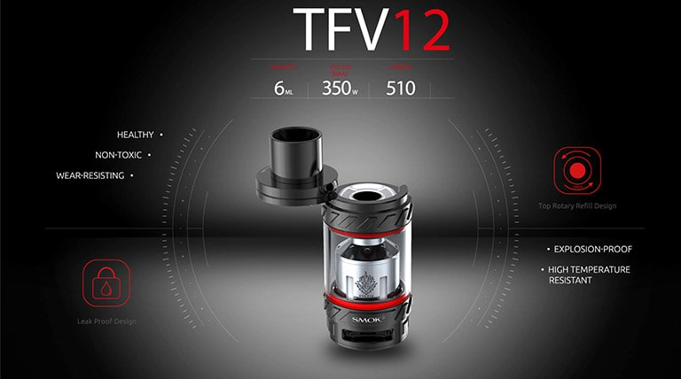 SMOK TFV12 Cloud Beast Features Review