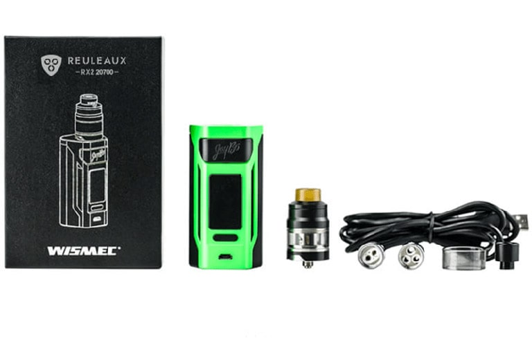 Wismec Reuleaux RX2 20700 Kit Review