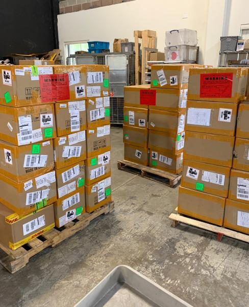 CBP Vapes The shipment consisted of 216 boxes