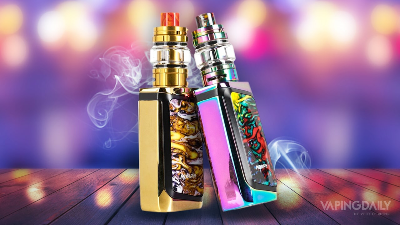 The SMOK Morph 219W Starter Kit desktop