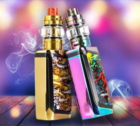 The SMOK Morph 219W Starter Kit sidebar