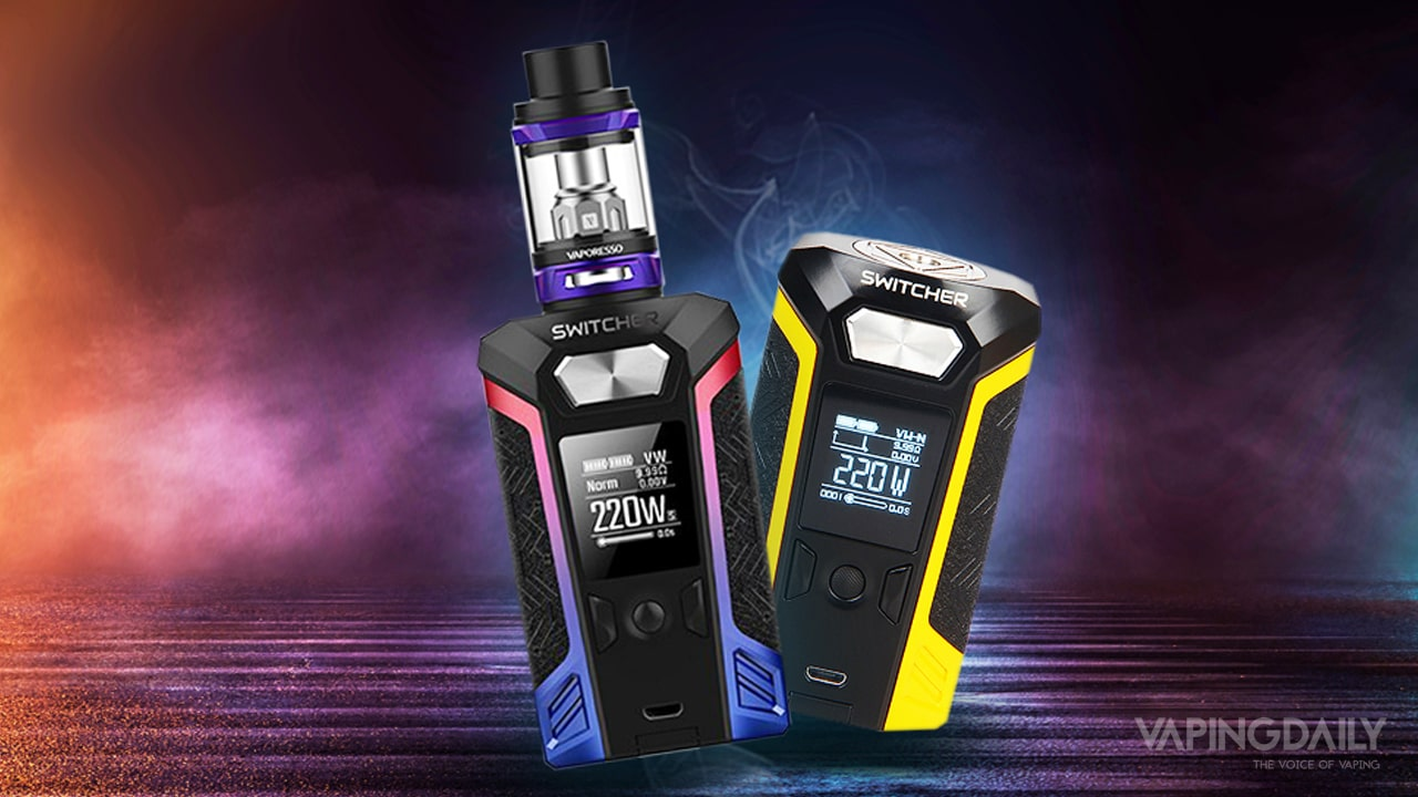 Vaporesso Switcher 220W silver