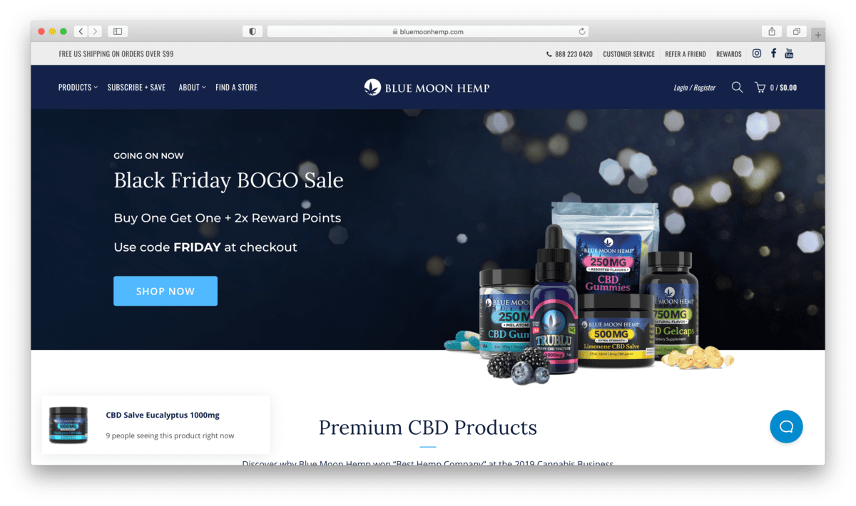 Blue Moon Hemp CBD: A Customer-Oriented Wellness Company