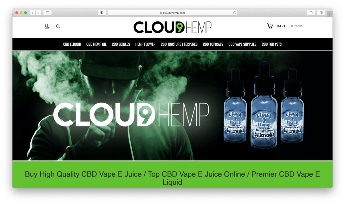 Cloud 9 CBD Review: Getting High Without Getting High