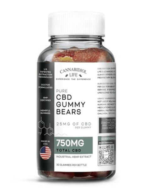 Cannabidiol Life CBD Gummie Bears