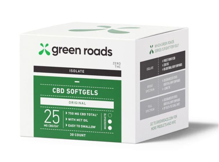 Green Roads CBD Softgels