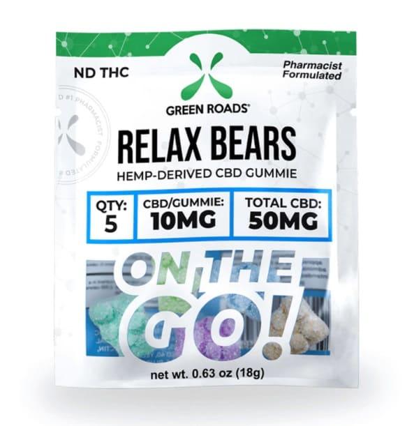 Green Roads Relax Bears