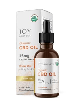 Joy OrganicCBD Oil Tincture Orange Bliss