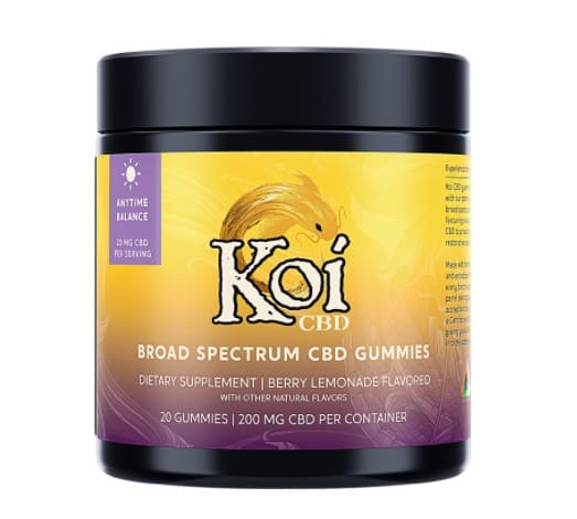 Koi CBD Gummies - Anytime Balance