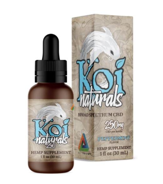 Koi Naturals Hemp Extract CBD Oil Peppermint