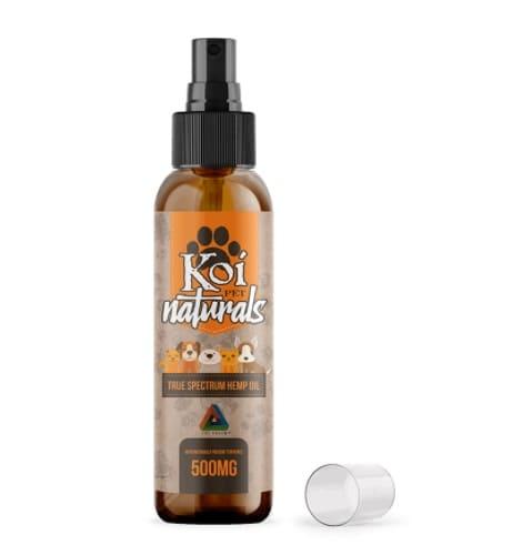 Koi Naturals Hemp Extract - CBD Pet Spray