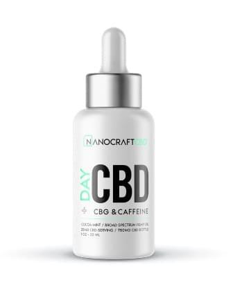 Nanocraft Day Time Daily CBD Oil with Caffeine and B-12