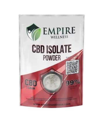 Empire Wellness CBD Isolate Powder