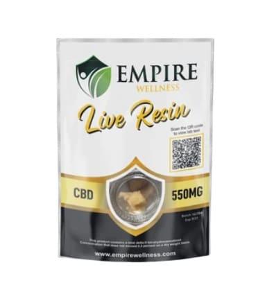 Empire Wellness CBG Live Resin