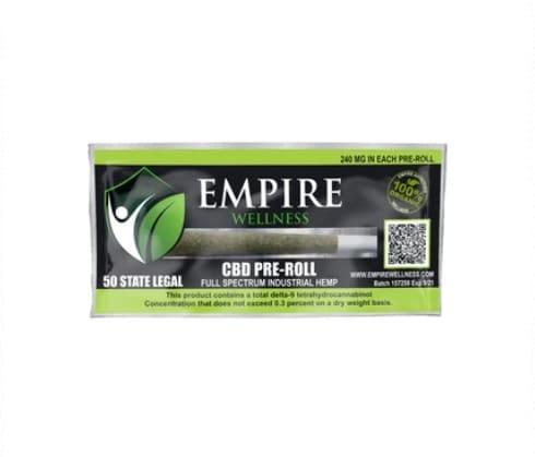 Empire Wellness CBG Pre-Roll