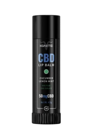 Ignite CBD Lip Balm - Cucumber Lemon Mint