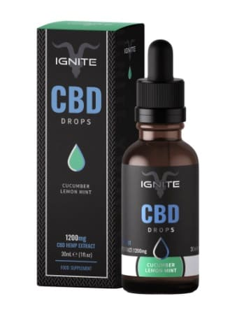 Ignite CBD Tongue Drops - Cucumber Lemon Mint