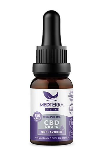 Medterra CBD Tincture for Pets Unflavored