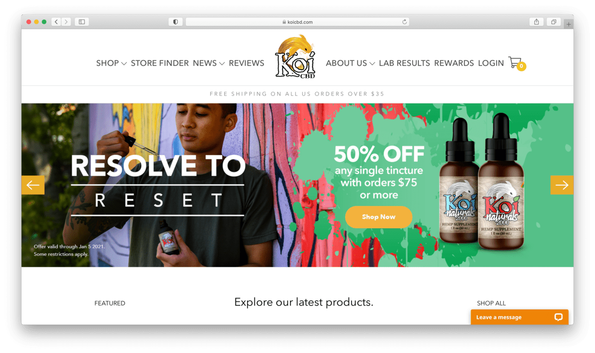 Koi CBD Review: Home-Grown Hemp For Everyday Uses