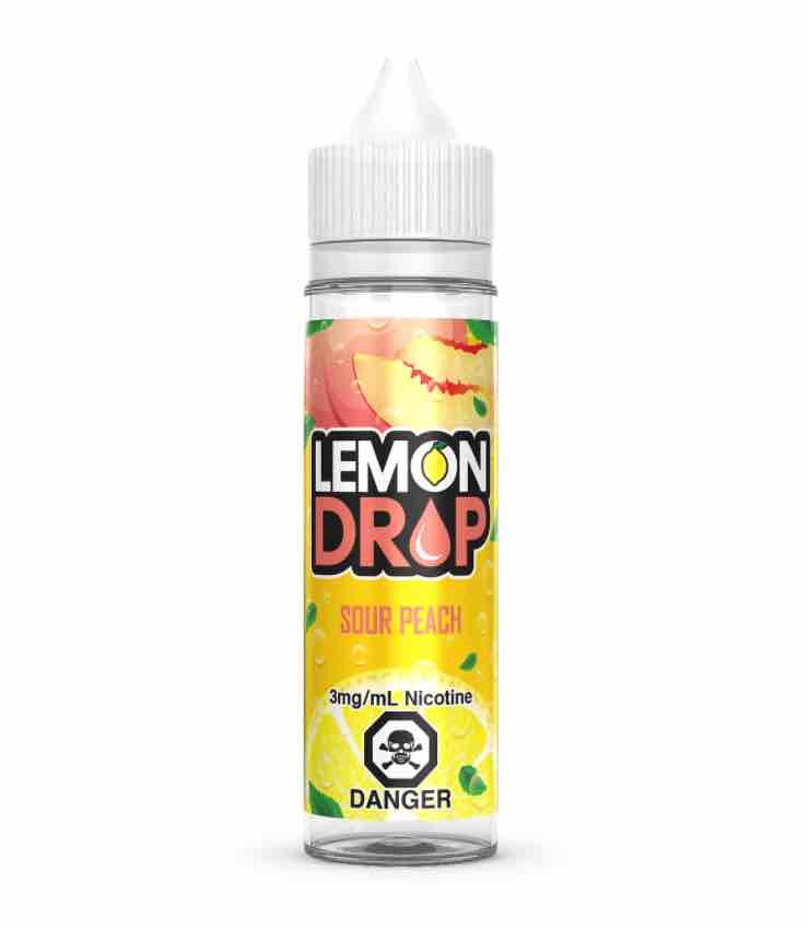 sour peach lemon drop e liquid