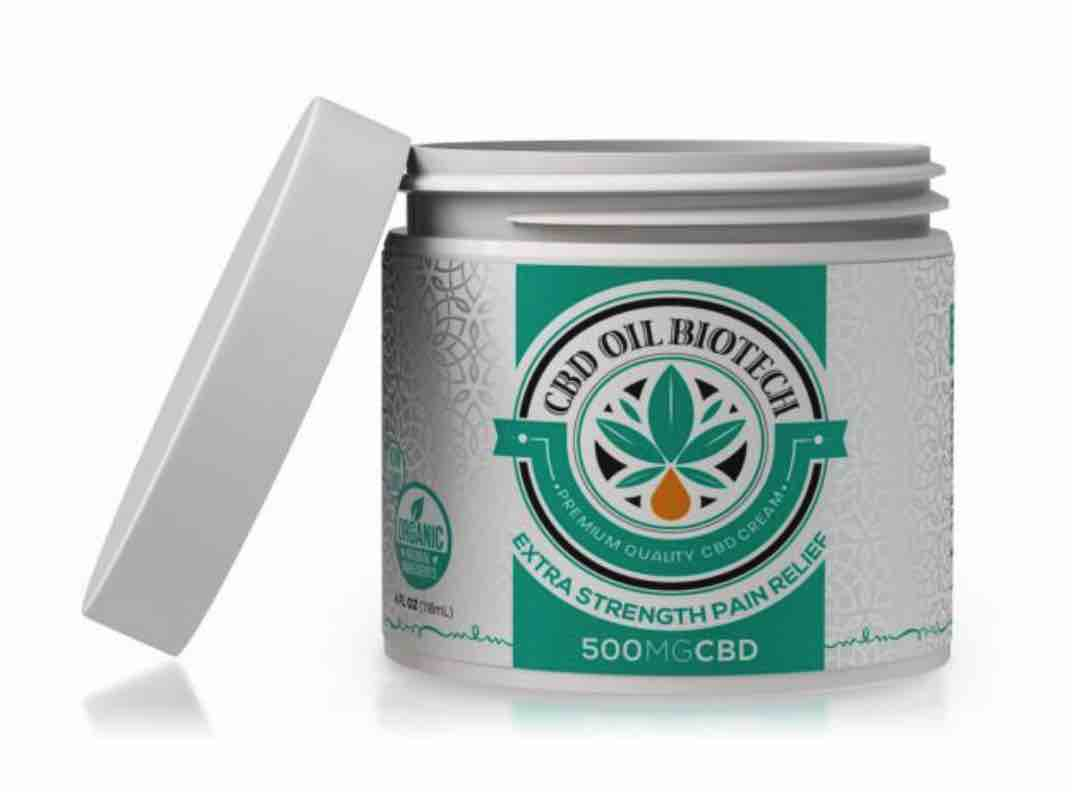 CBD Oil Biotech Cream
