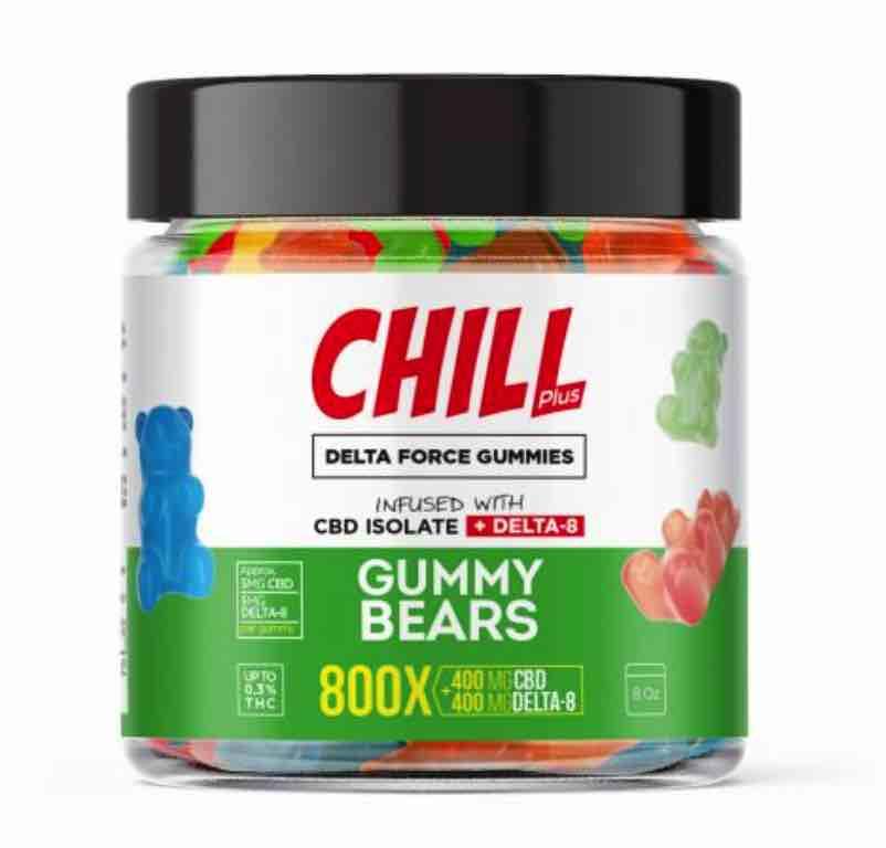 Chill Plus Delta Force Gummy Bears