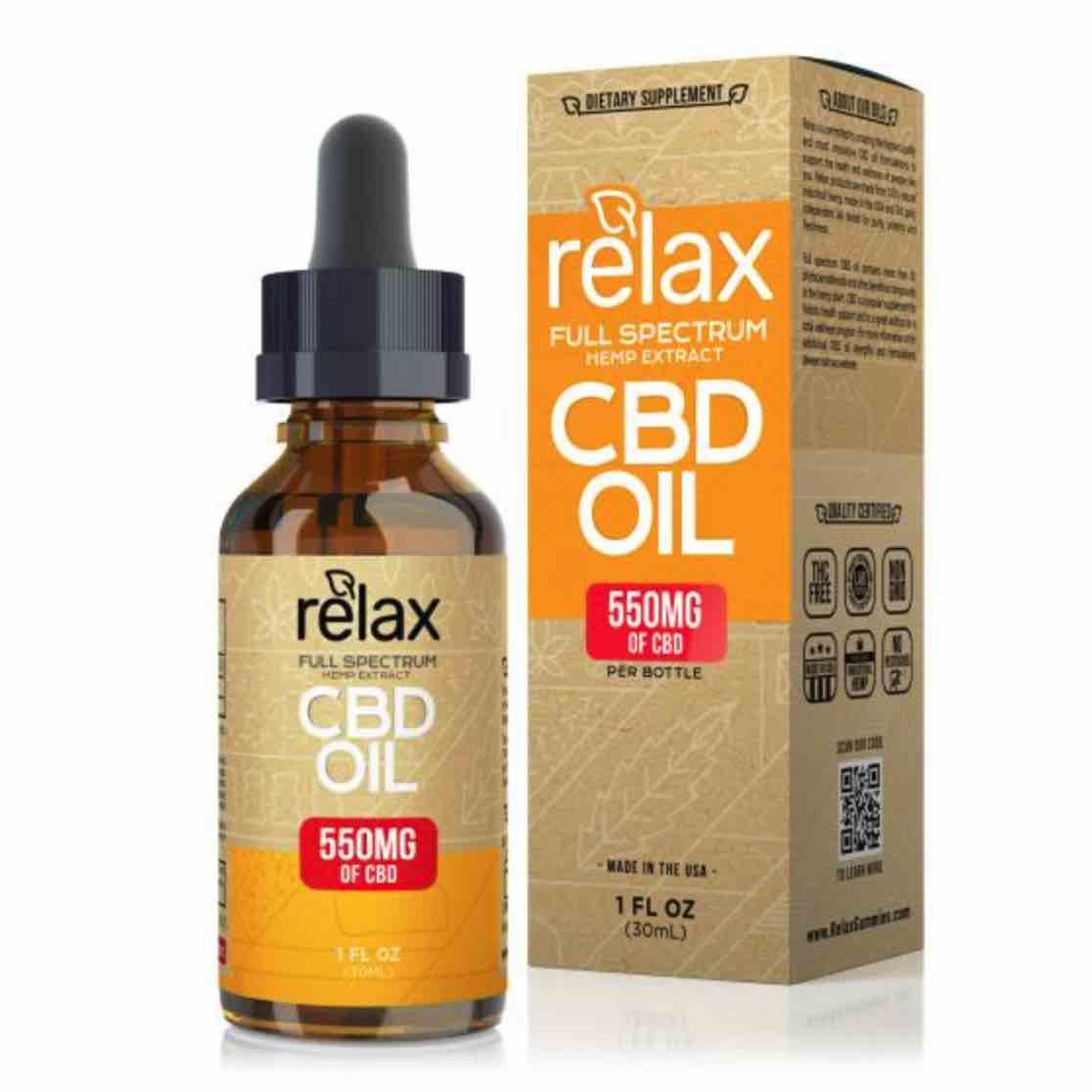Relax Full Spectrum CBD Oil