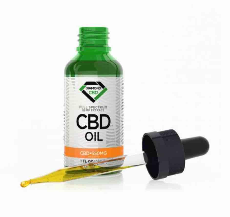 Unflavored Diamond CBD Oil