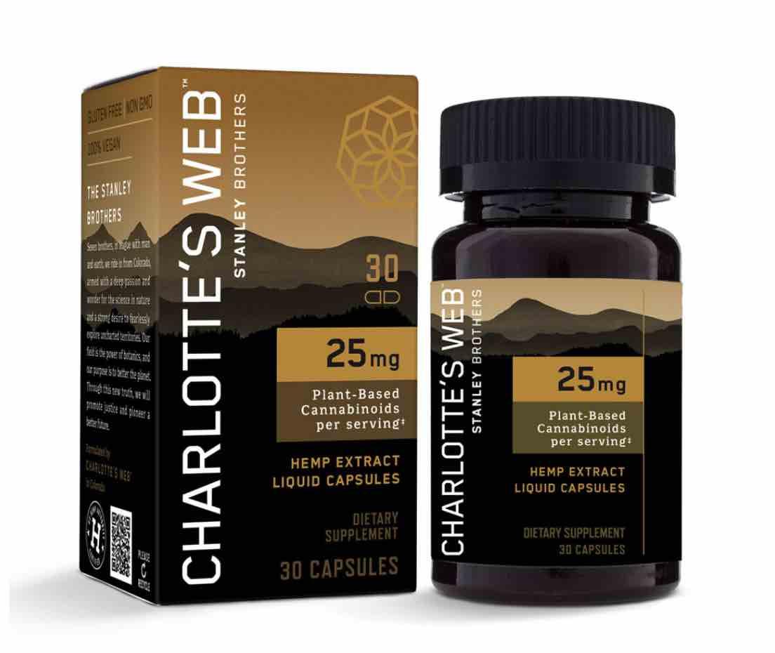 Charlotte's Web – CBD Oil Liquid Capsules