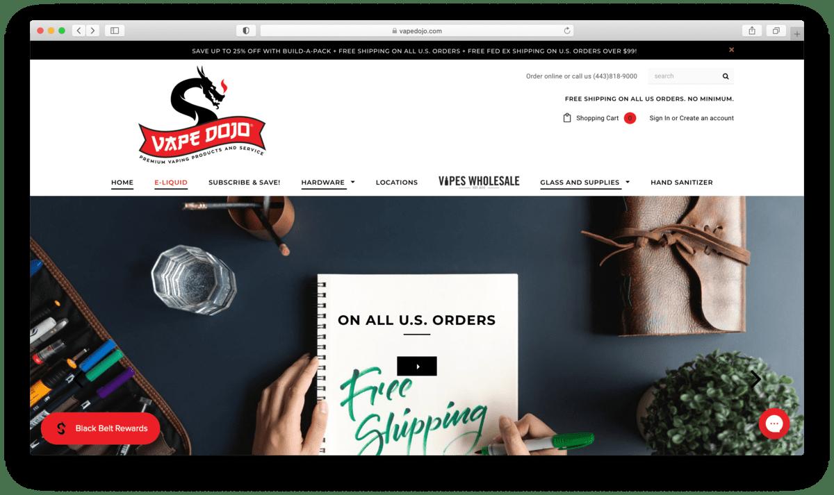 Vape Dojo Review: Kicking Ass In Vape Retail