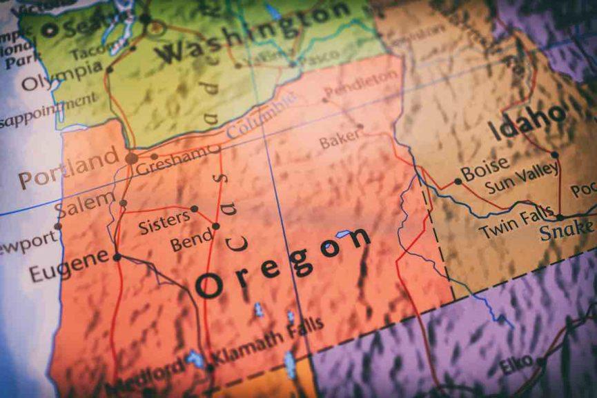 Oregon map