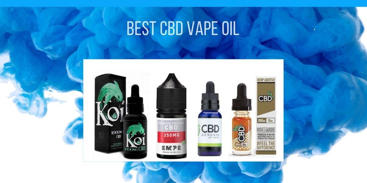 Best CBD Vape Oil Review