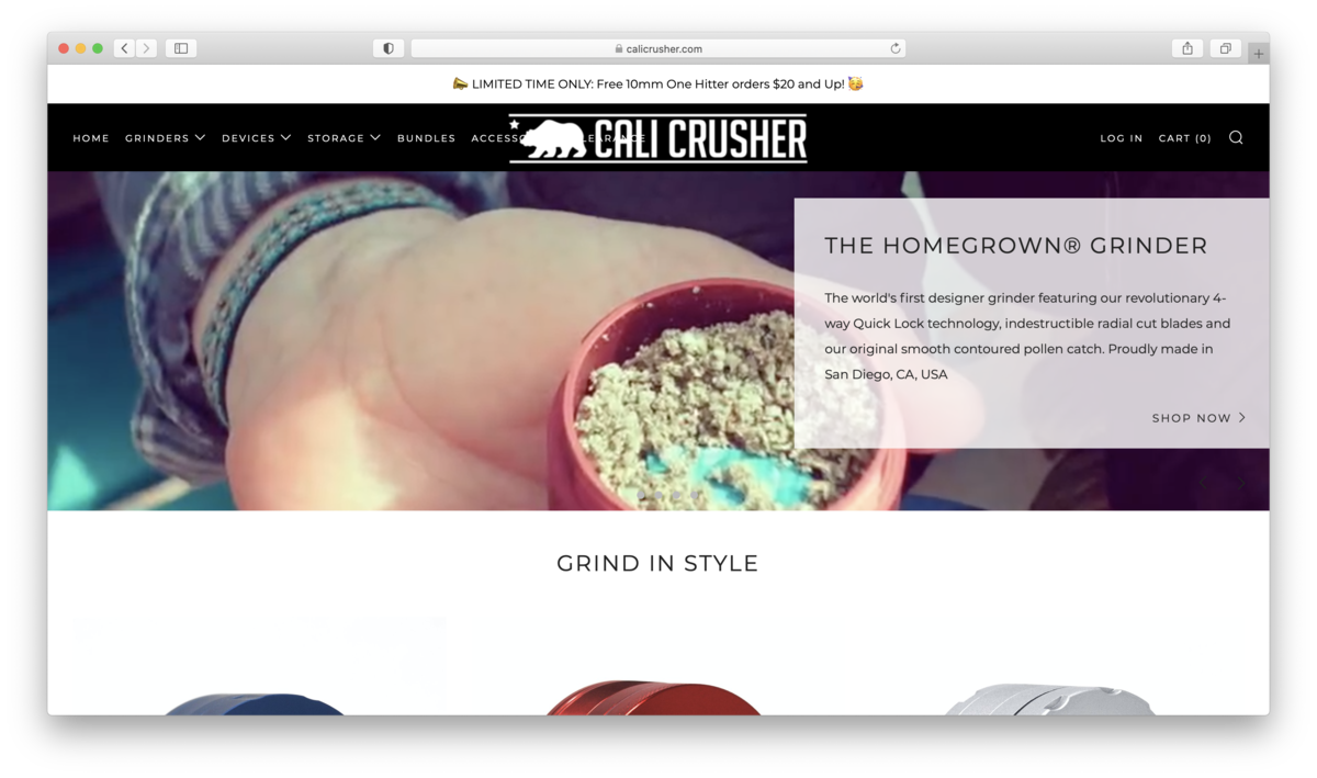 Cali Crusher Review: More Than Just High-Quality Grinders