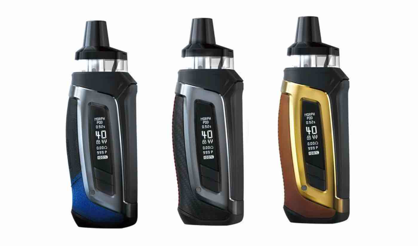 The Smok Morph Pod 40: A Flavorful and Cloudy Dream