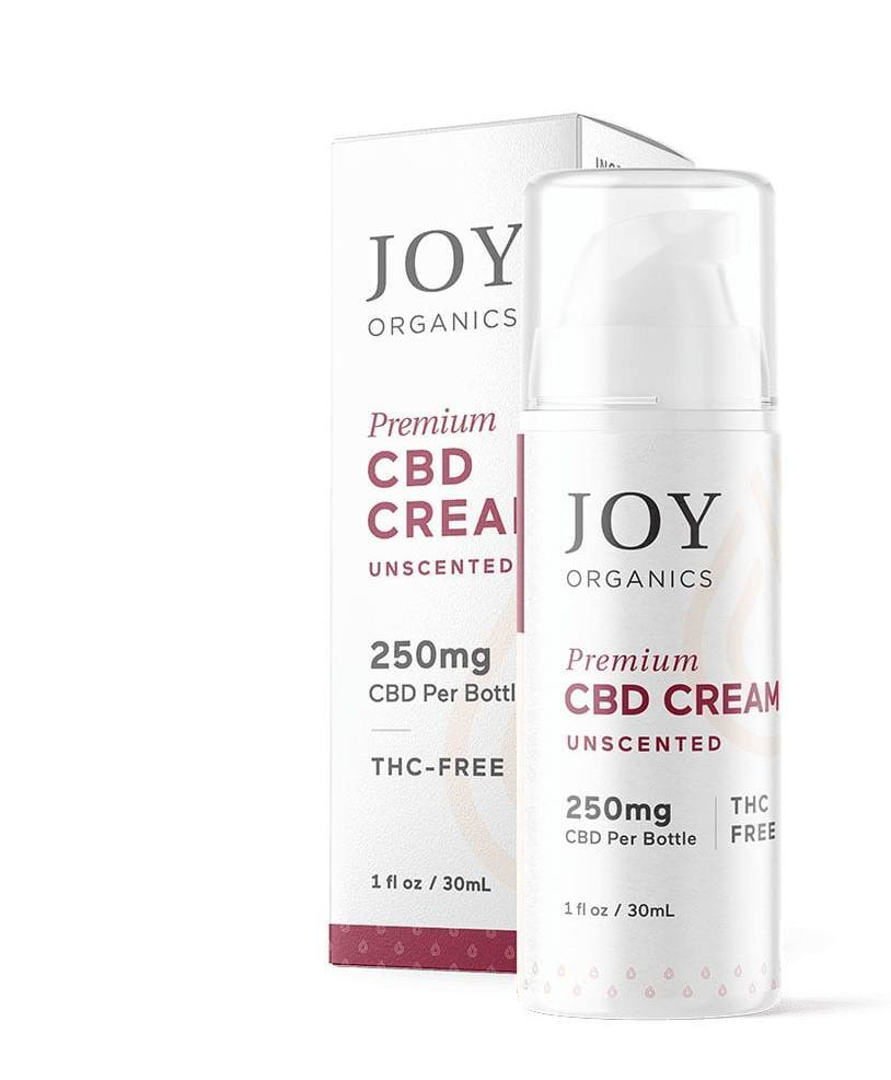 Joy Organics CBD cream